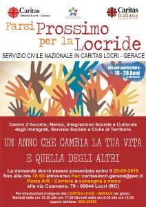 locandina_ Servizio Civile in Caritas Diocesana a Locri