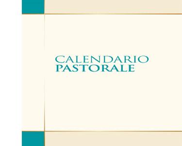 Calendario Pastorale 2019