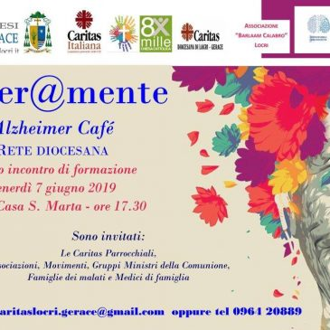 """Tener@mente…Rete Diocesana degli Alzheimer cafè"""