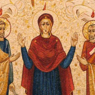 Schema della Veglia di Pentecoste secondo lo schema della celebrazione vigilare prolungata