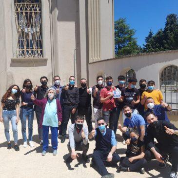 Weekend vocazionale, in preparazione alla Giornata pro-seminario, Vicaria Centro (S. Maria dell'Arco in Siderno M.na e Cattedrale di Locri) 08/09 maggio 2021